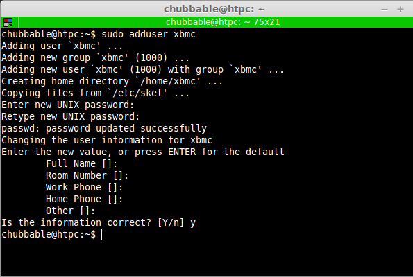Screenshot: XBMC-DLNA-Pllex Installation Guide, Step 6