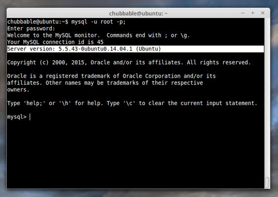 how-to-setup-a-web-server-check-mysql-version