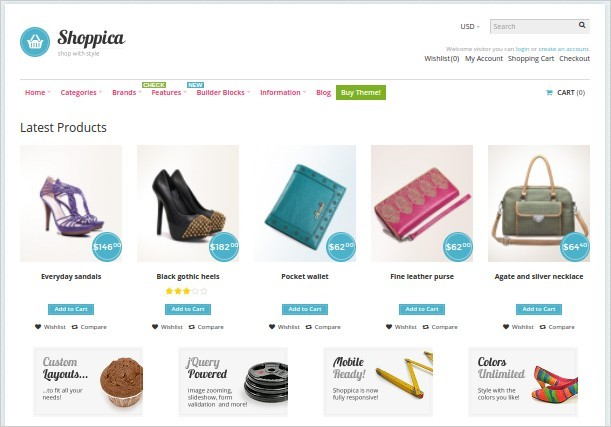 Shoppica - The Best OpenCart Theme